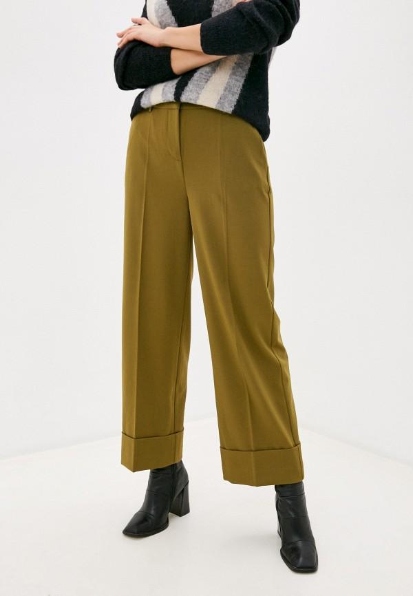 женские повседневные брюки ichi, хаки