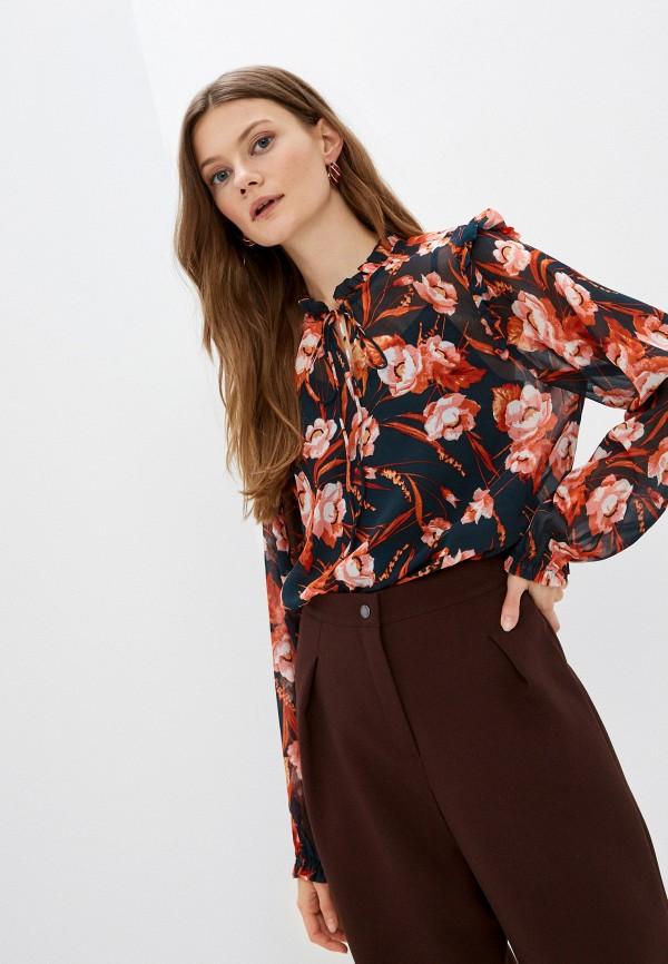 женская блузка ichi, черная