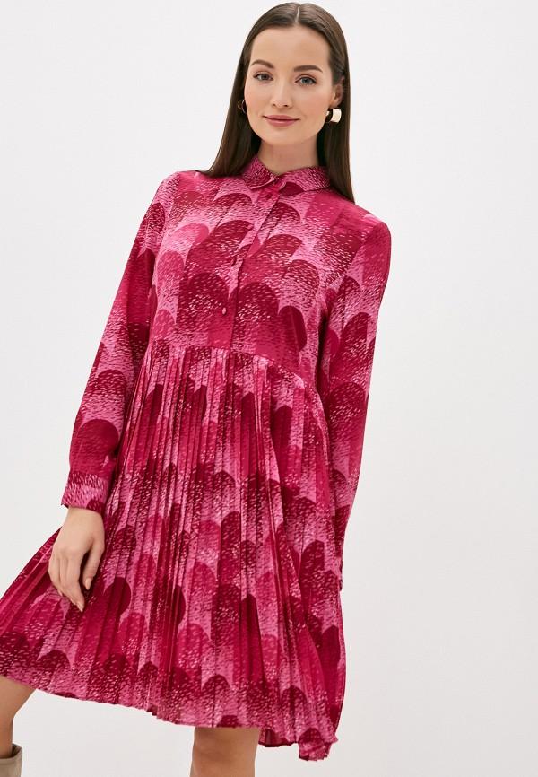женское повседневные платье ichi, розовое