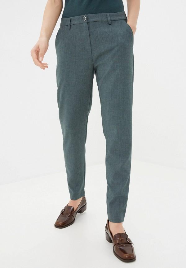 женские повседневные брюки ichi, зеленые
