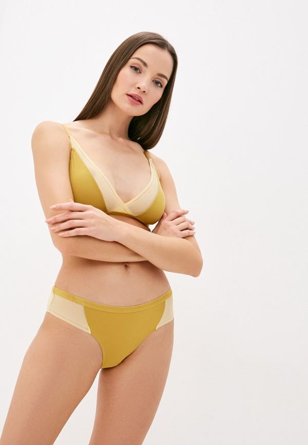 женский бюстгальтер ichi, желтый