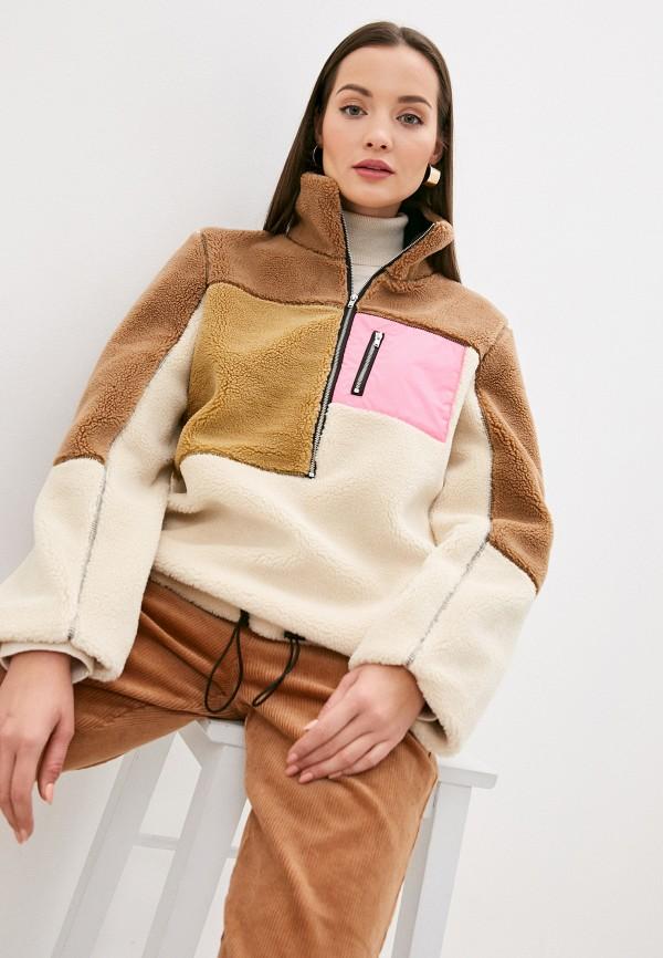 женская куртка ichi, разноцветная
