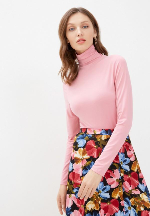 женская водолазка ichi, розовая