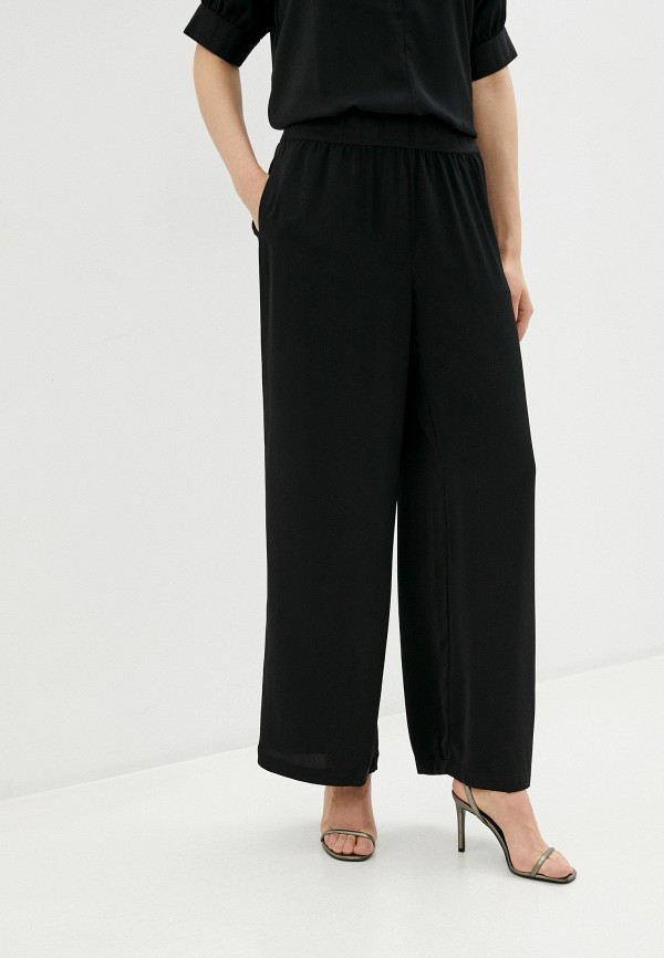 женские повседневные брюки ichi, черные