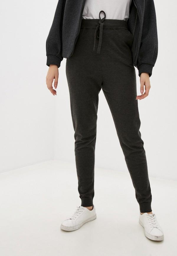 женские повседневные брюки ichi, серые