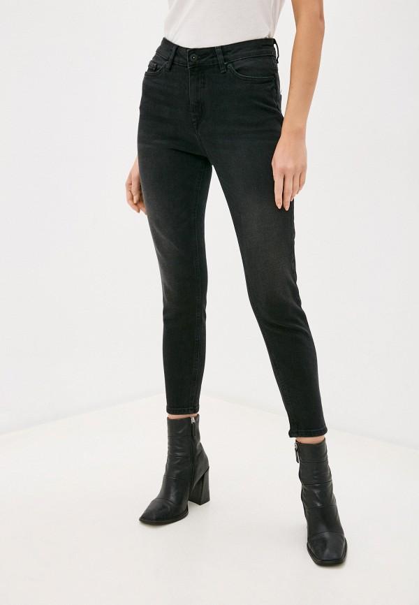 женские джинсы ichi, черные