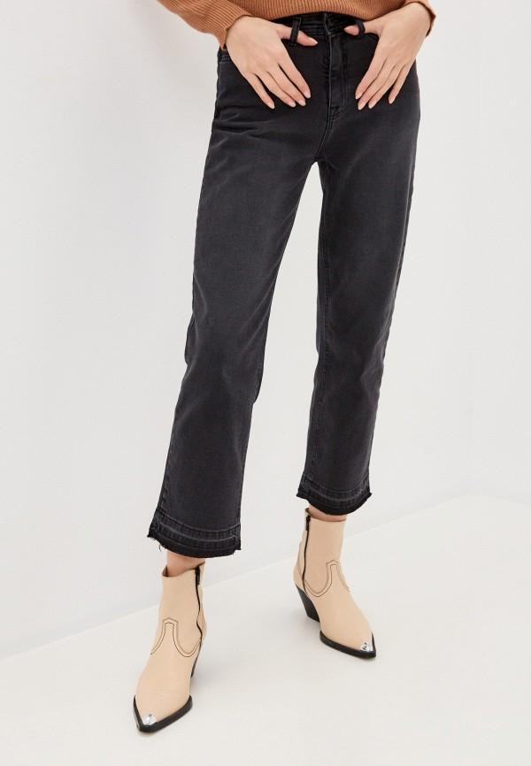 женские прямые джинсы ichi, серые
