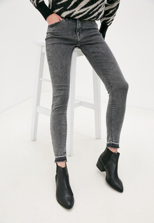 женские джинсы ichi, серые