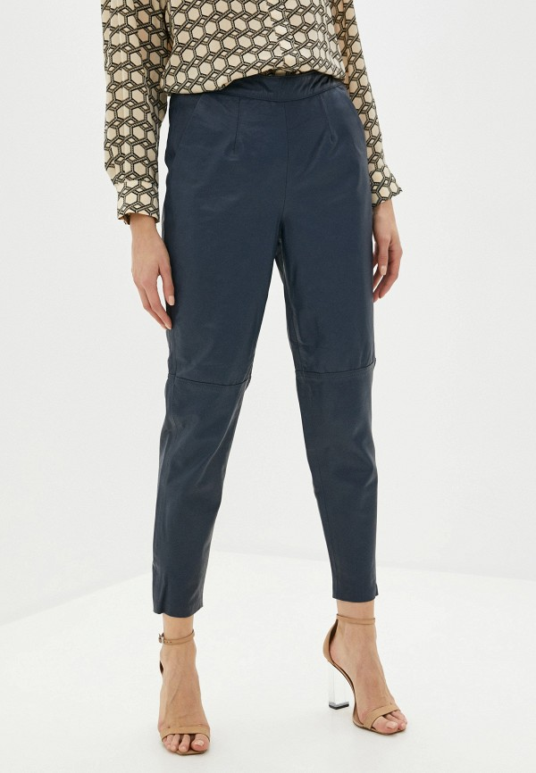 женские брюки ichi, синие