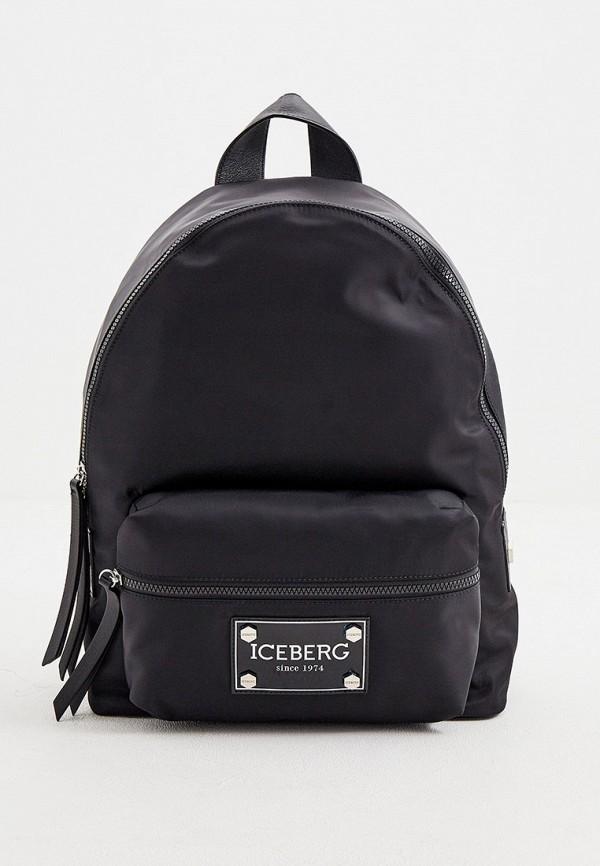 мужской рюкзак iceberg, черный