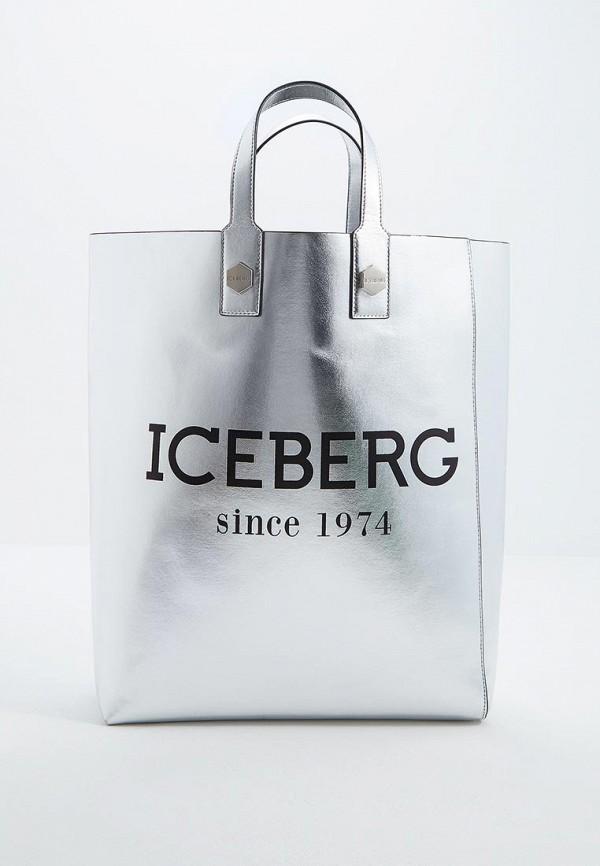 Сумка Iceberg Iceberg IC461BWEPNI8 платье iceberg iceberg ic461ewbqkt9