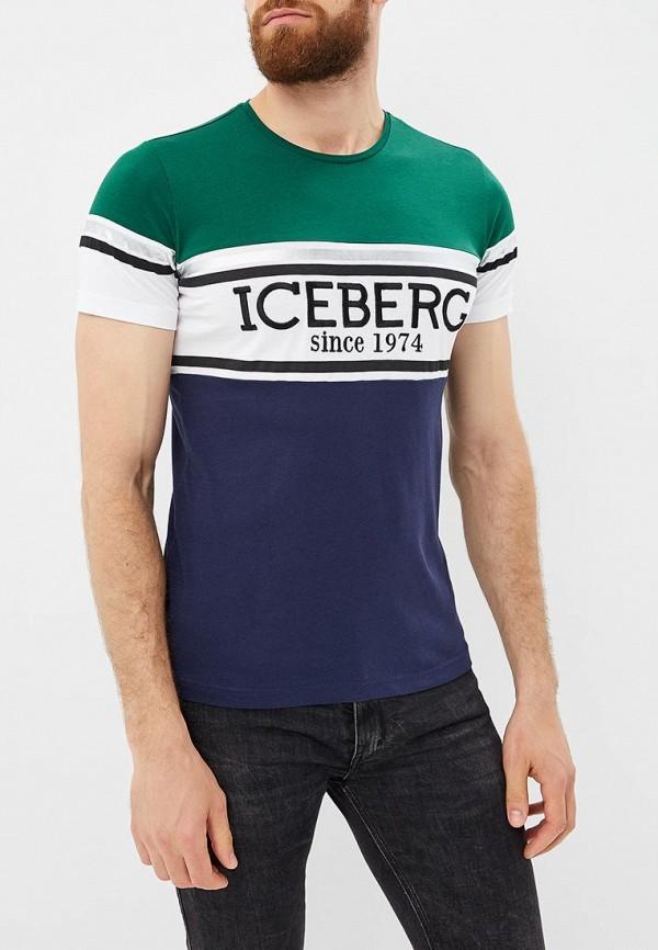Футболка Iceberg Iceberg IC461EMBQOO7 футболка iceberg