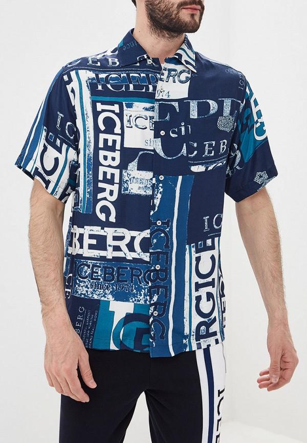 Рубашка Iceberg Iceberg IC461EMEPUG2 цена и фото