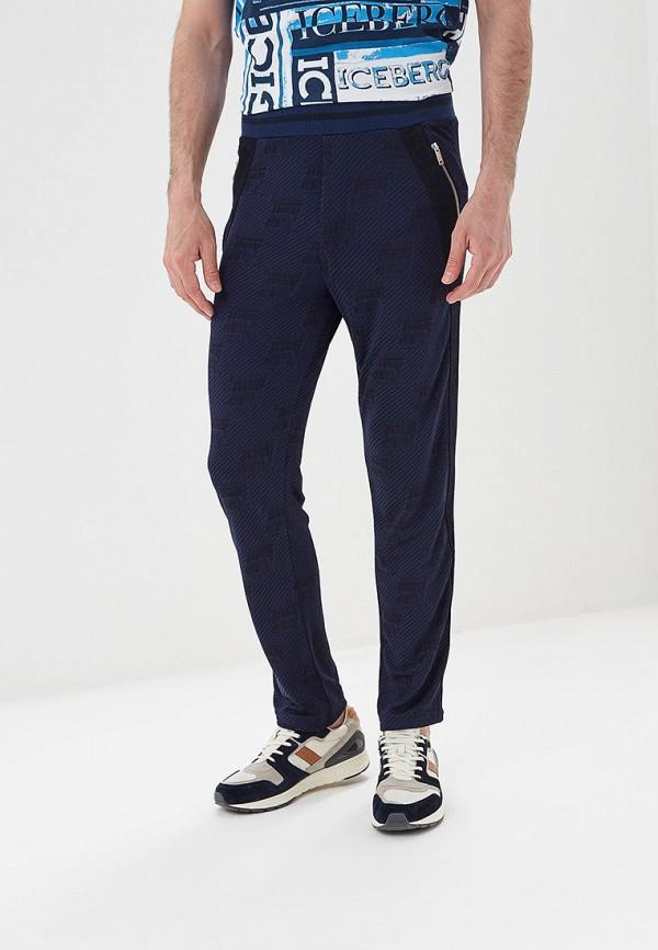 мужские спортивные спортивные брюки iceberg, синие