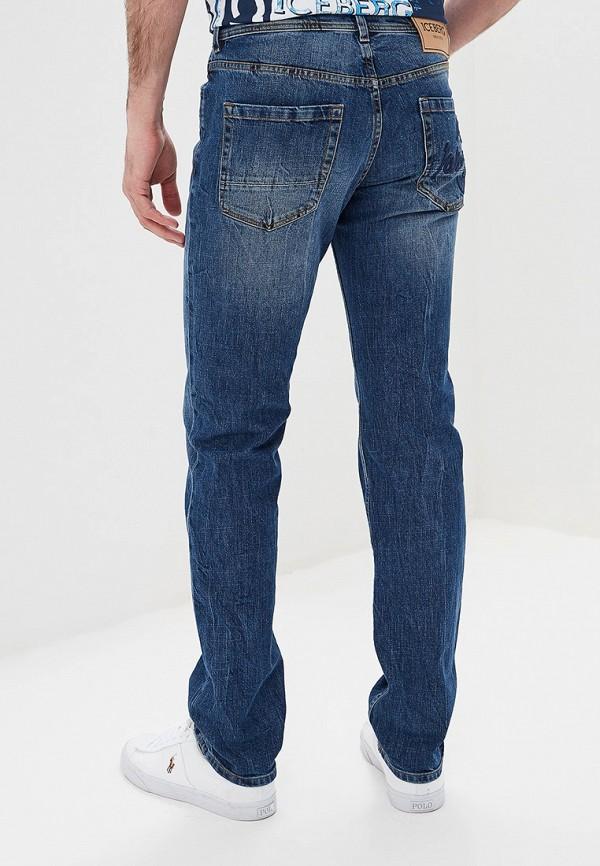 Фото 3 - мужские джинсы Iceberg голубого цвета