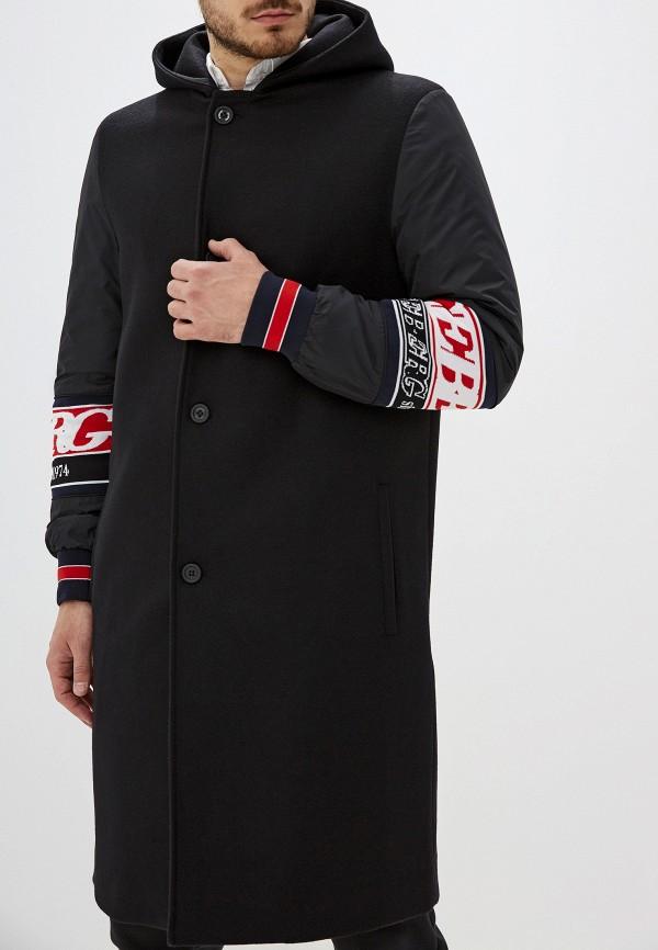 мужское пальто iceberg, черное