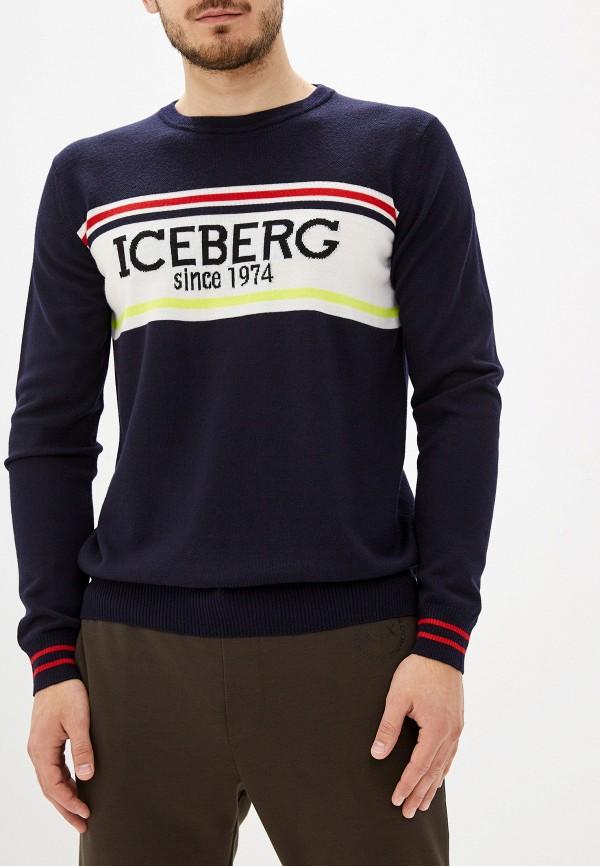 мужской джемпер iceberg, синий