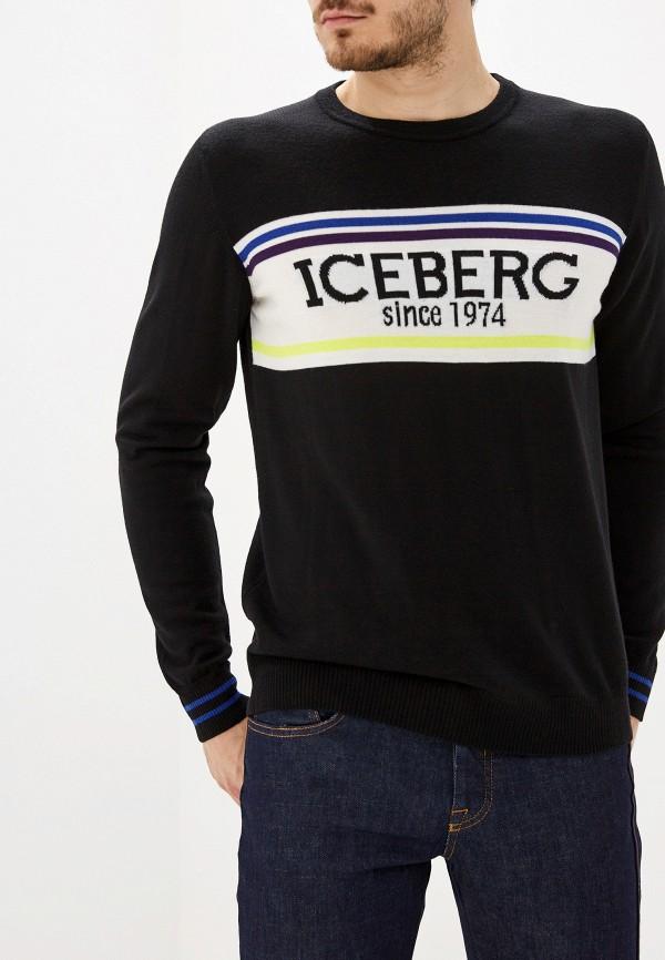 мужской джемпер iceberg, черный