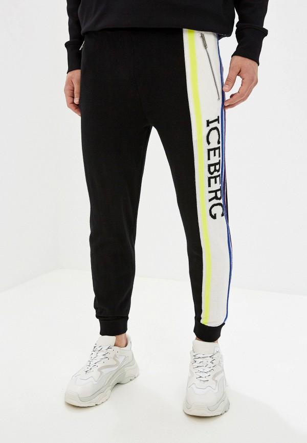мужские спортивные спортивные брюки iceberg, черные