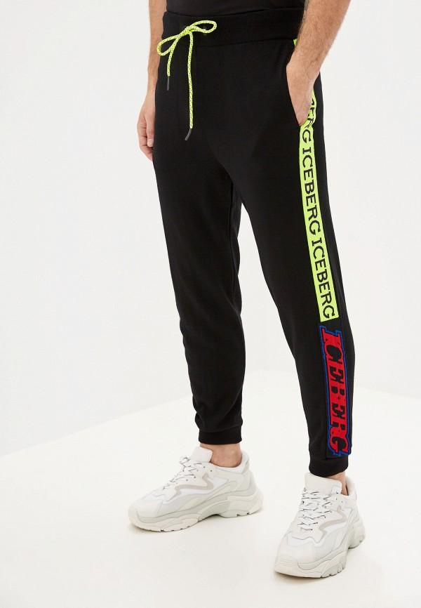 мужские повседневные спортивные брюки iceberg, черные
