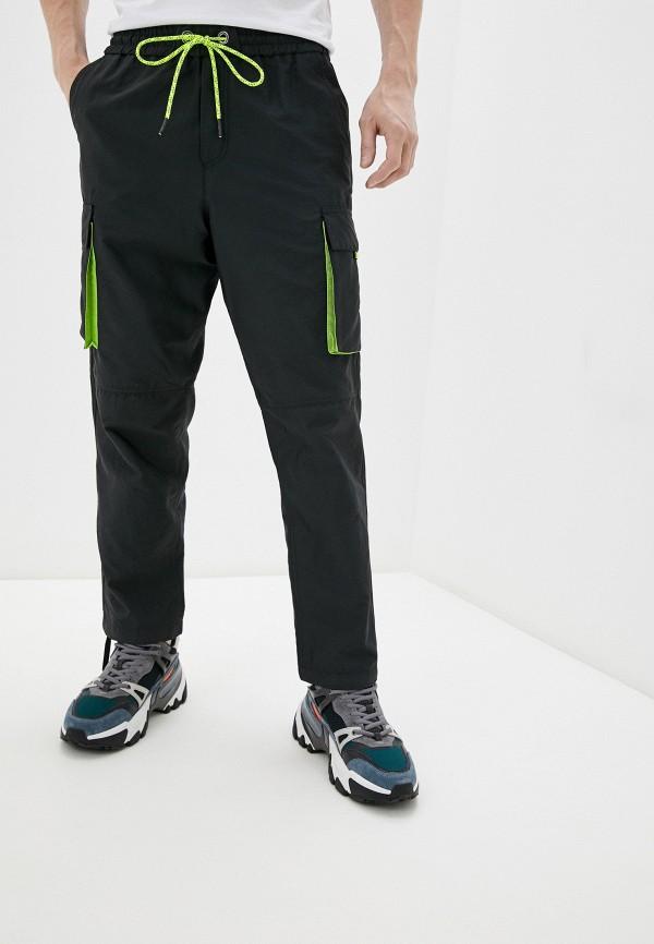 мужские брюки джоггеры iceberg, черные