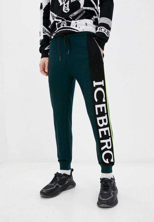 мужские спортивные брюки iceberg, зеленые