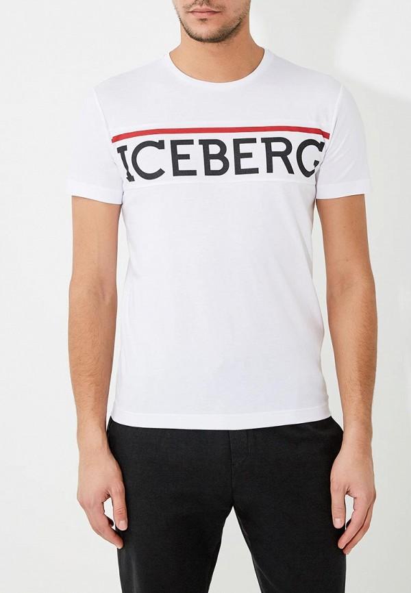 Футболка Iceberg Iceberg IC461EMZWW38 футболка iceberg iceberg ic461emzww54