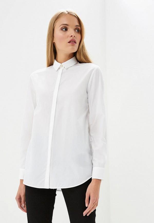женская рубашка с длинным рукавом iceberg, белая