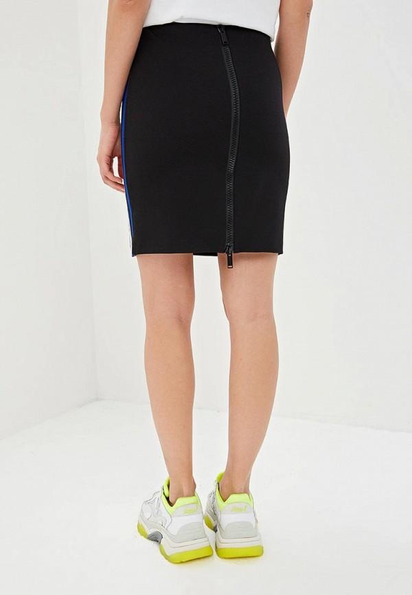 Фото 3 - женскую юбку Iceberg черного цвета