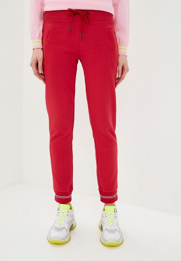 женские спортивные спортивные брюки iceberg, красные