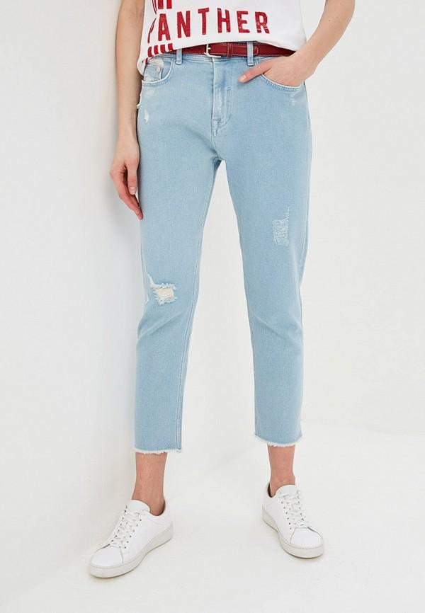 женские джинсы iceberg, голубые