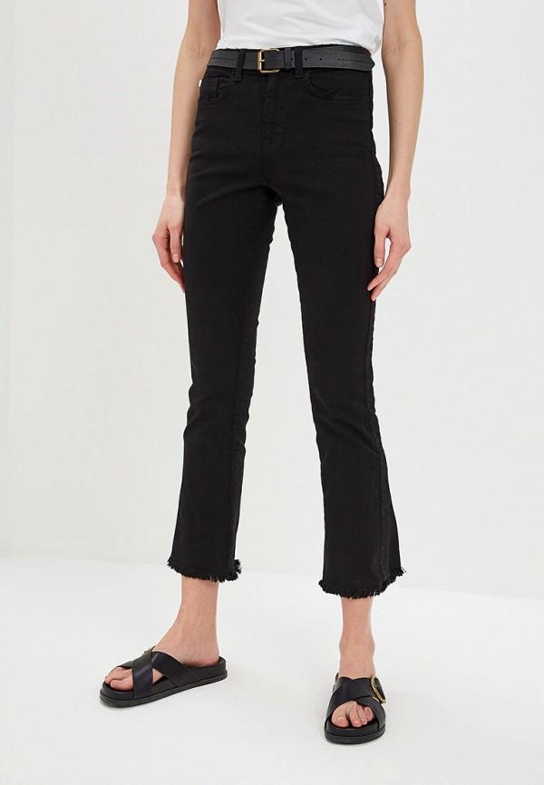 женские джинсы клеш iceberg, черные