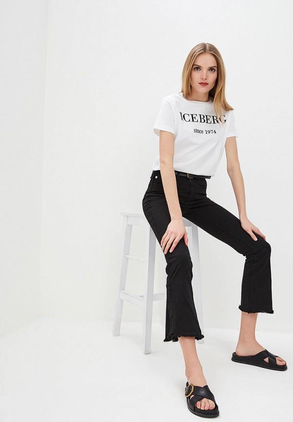 Фото 2 - женские джинсы Iceberg черного цвета