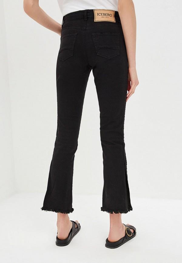 Фото 3 - женские джинсы Iceberg черного цвета