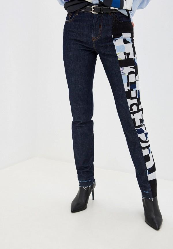 женские джинсы-мом iceberg, синие
