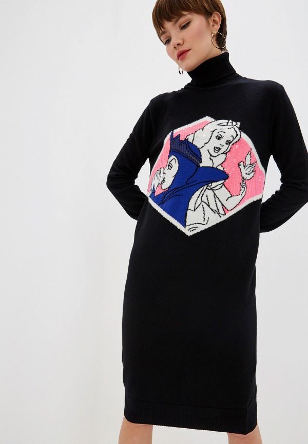 женское платье-свитеры iceberg, черное