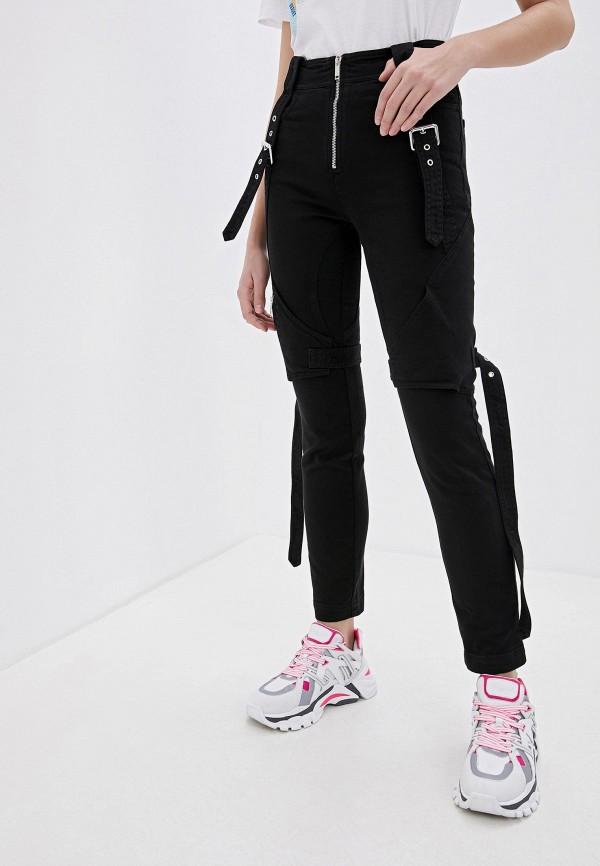женские классические брюки iceberg, черные