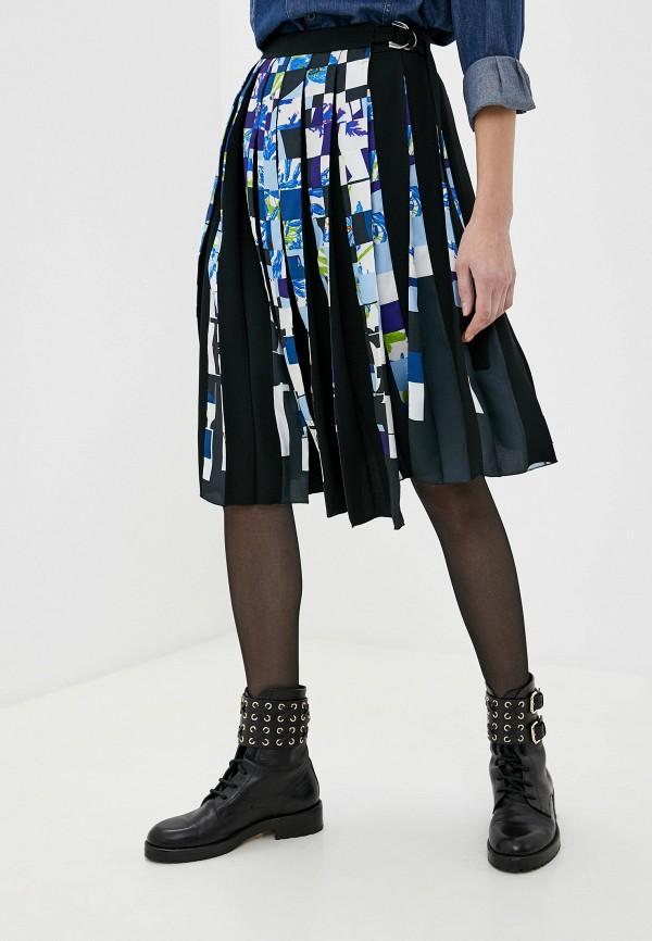 женская юбка мини iceberg, черная
