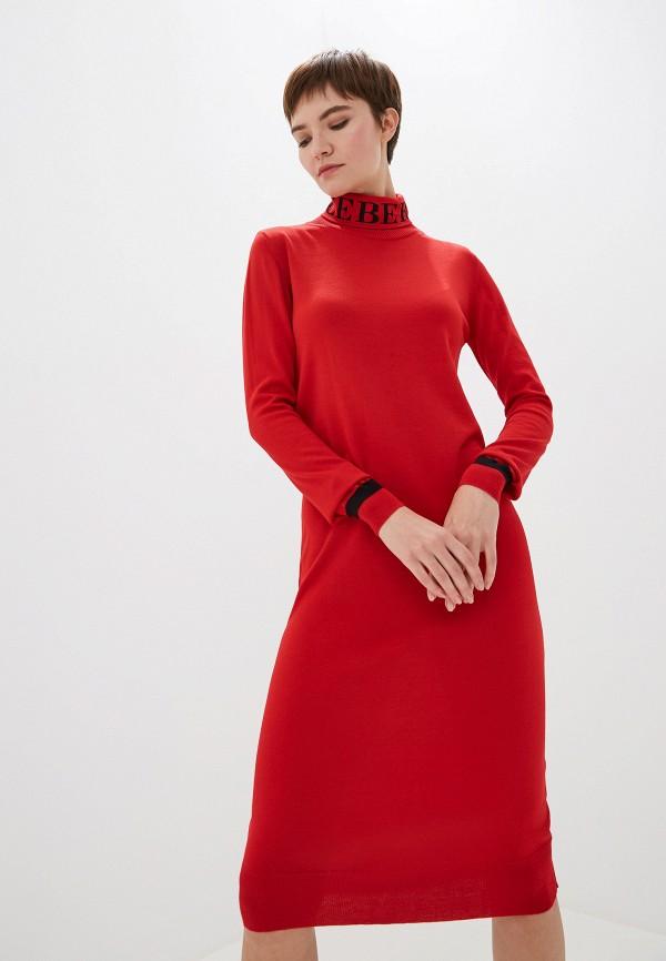 женское платье iceberg, красное