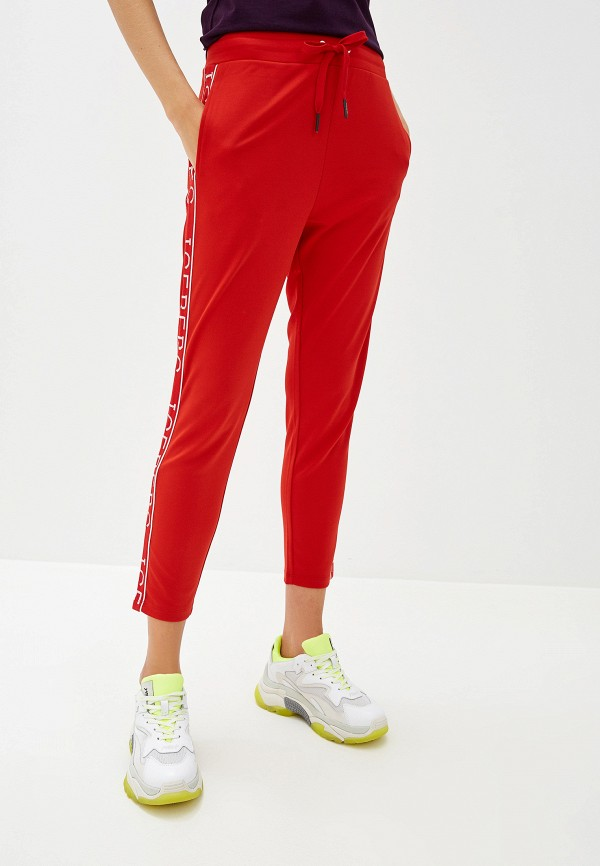 женские спортивные брюки iceberg, красные