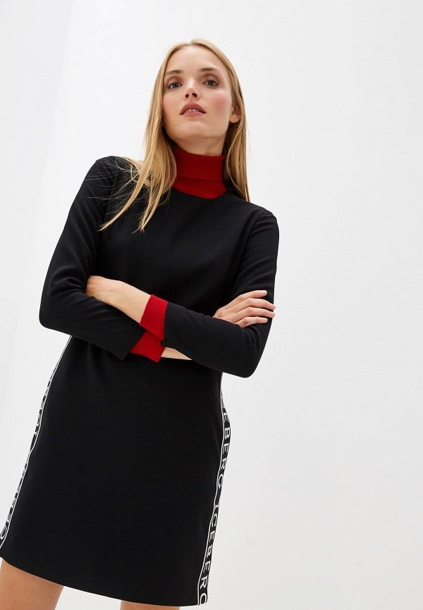 цена Платье Iceberg Iceberg IC461EWFUUX2 онлайн в 2017 году