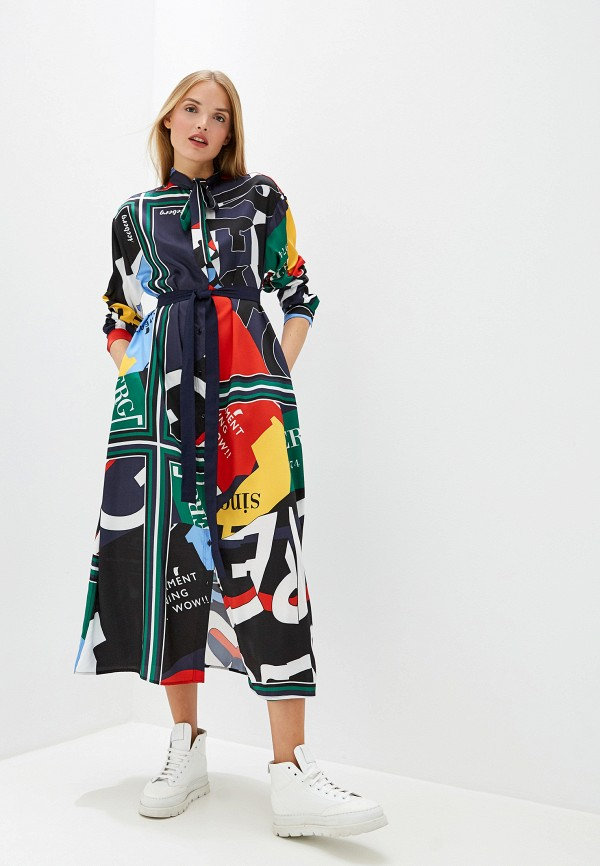 цена Платье Iceberg Iceberg IC461EWFUUX3 онлайн в 2017 году
