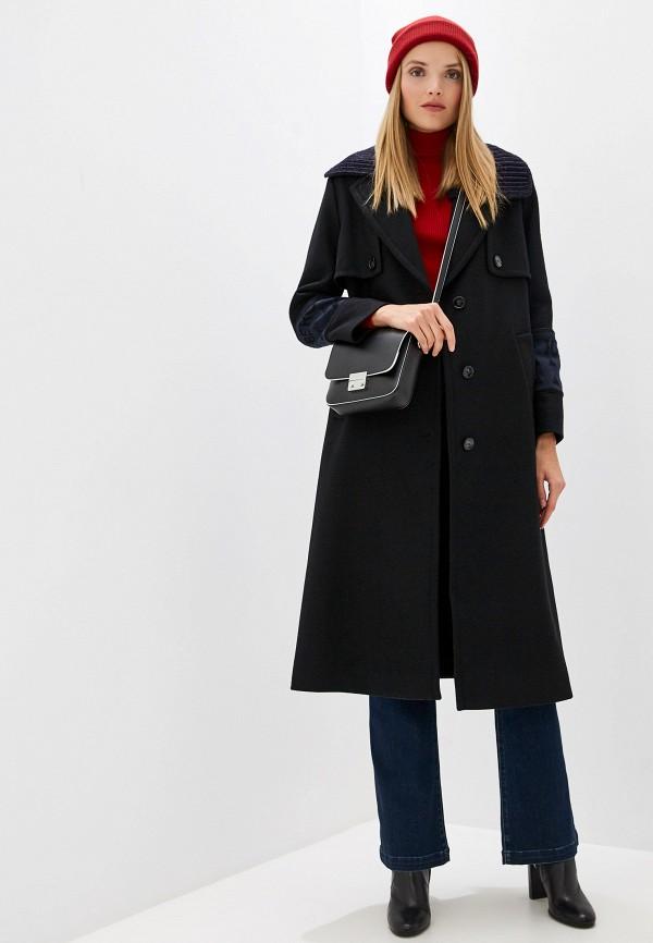 женское пальто iceberg, черное