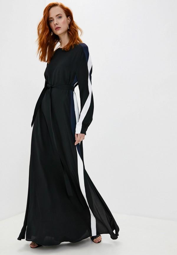 женское повседневные платье iceberg, черное