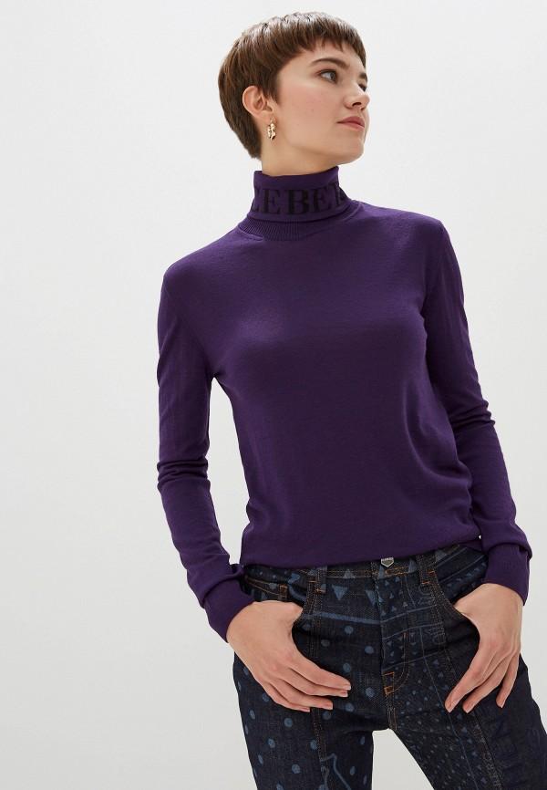 женская водолазка iceberg, фиолетовая