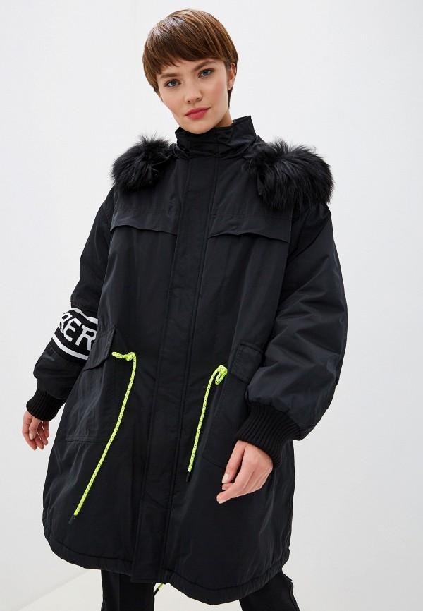 женская куртка iceberg, черная