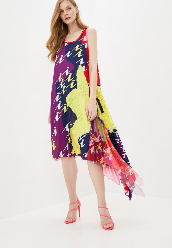 женское повседневные платье iceberg, разноцветное