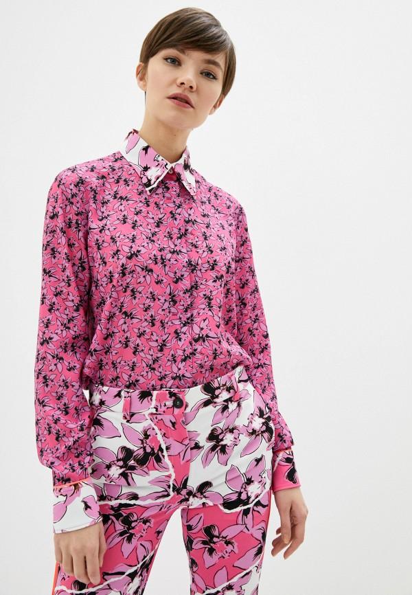 женская блузка iceberg, розовая