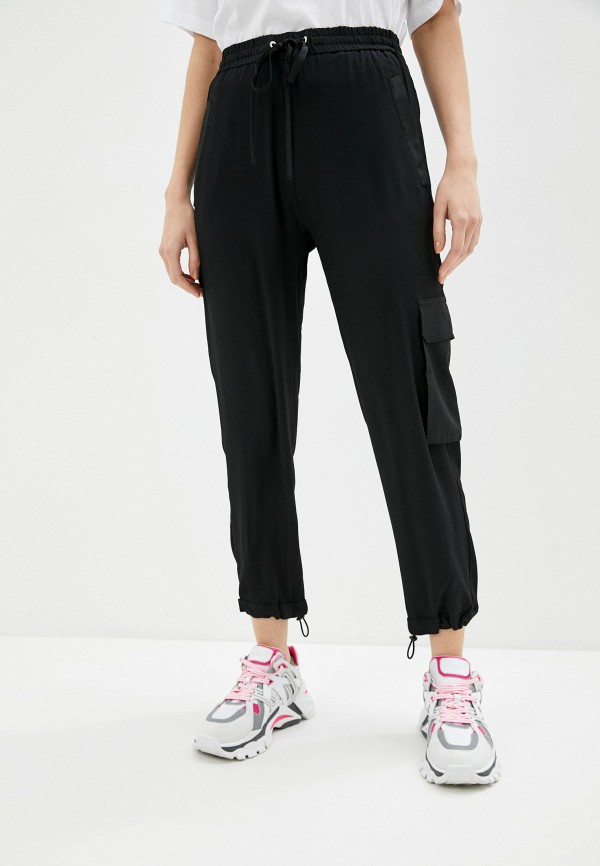 женские брюки карго iceberg, черные