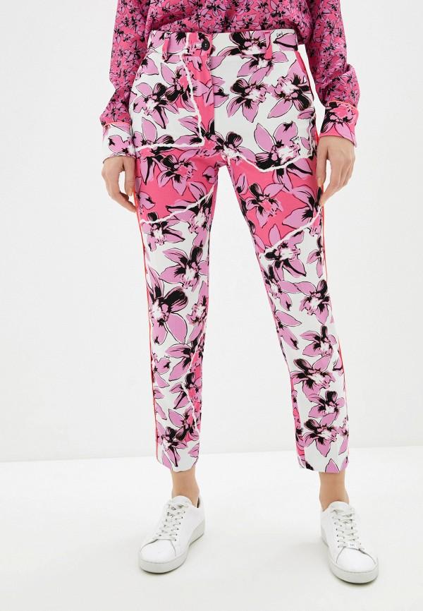 женские повседневные брюки iceberg, розовые